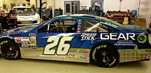 New Speed Stick(R) Gear(TM) Partners With Swan Racing Driver Cole Whitt. (PRNewsFoto/Colgate-Palmolive) ...