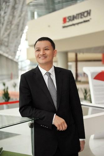 Eric Luo, Suntech CEO (PRNewsFoto/Wuxi Suntech Power Co., Ltd.)