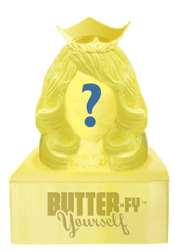 "Butter-Fy Yourself as a Dairy Princess or one of five other ""butterific"" personalities at ..."