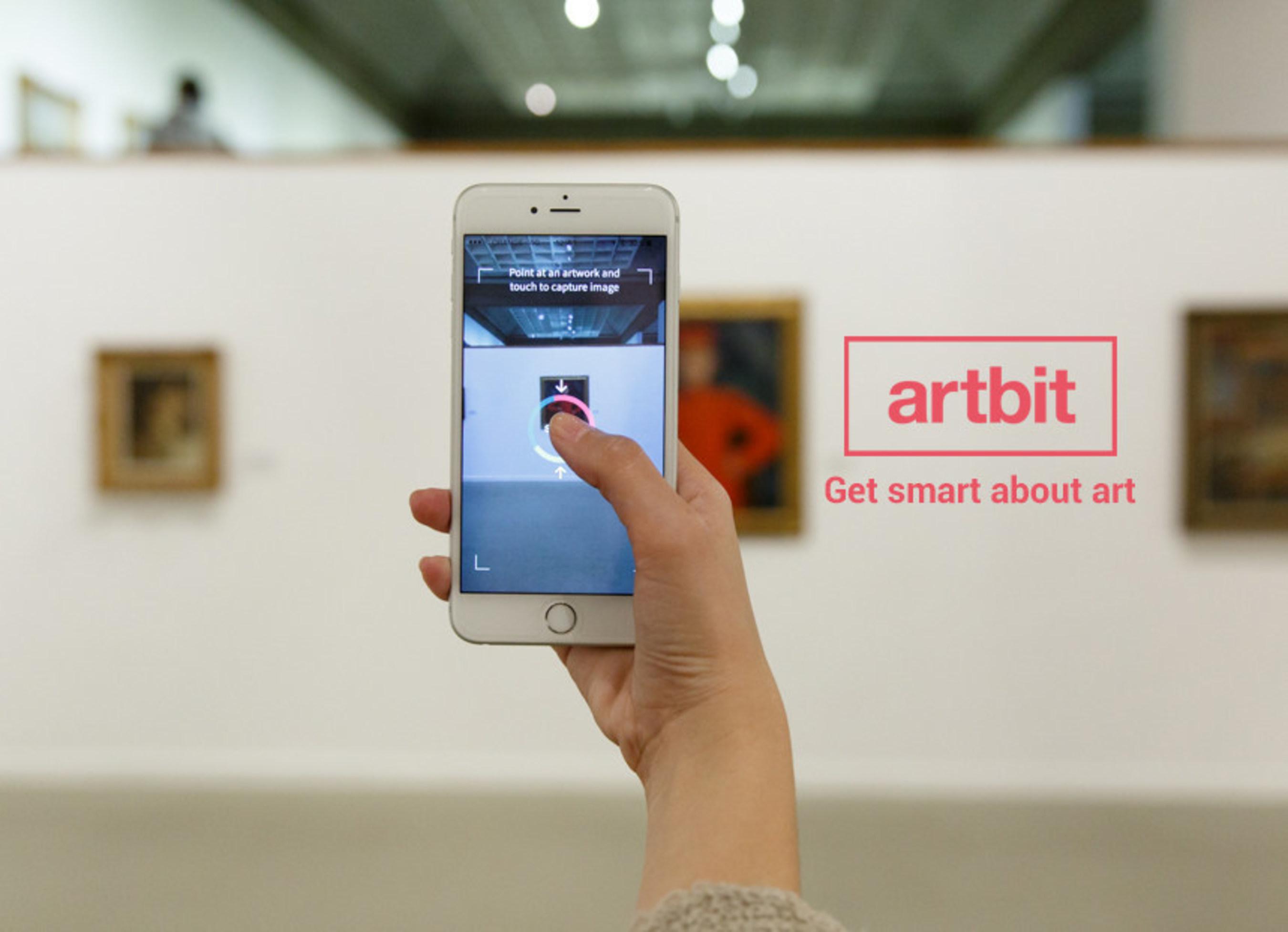 Artbit: Point > Snap > Interact.