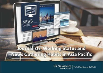 2016 APAC Journalist Survey Report by PR Newswire