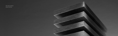 Fast construction with prefabricated wood elements (PRNewsFoto/Metsa Wood)