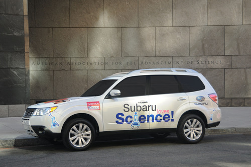 """Subaru Launches """"Subaru Loves Science!"""" with American Association for Advancement of Science.  ..."""