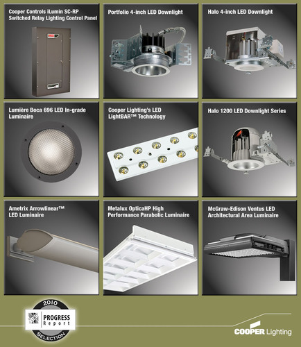 Cooper Lighting Products Accepted In