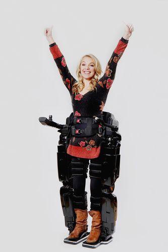 Sophie Morgan in a REX (PRNewsFoto/Union MedTech Plc)