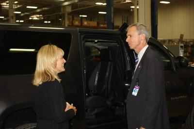 Scaletta Armoring Hosts Congressman Dan Lipinski (PRNewsFoto/Scaletta Armoring)