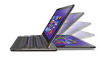 Toshiba's Satellite U925t Ultrabook Convertible sports the performance of an Ultrabook with the ease-of-use and portability of a tablet, making it a perfect hybrid device.  (PRNewsFoto/Toshiba America Information Systems, Inc.)