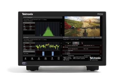 The new Tektronix Prism platform bridges the gap between SDI and IP worlds with unique ability to correlate SDI and IP media signals.