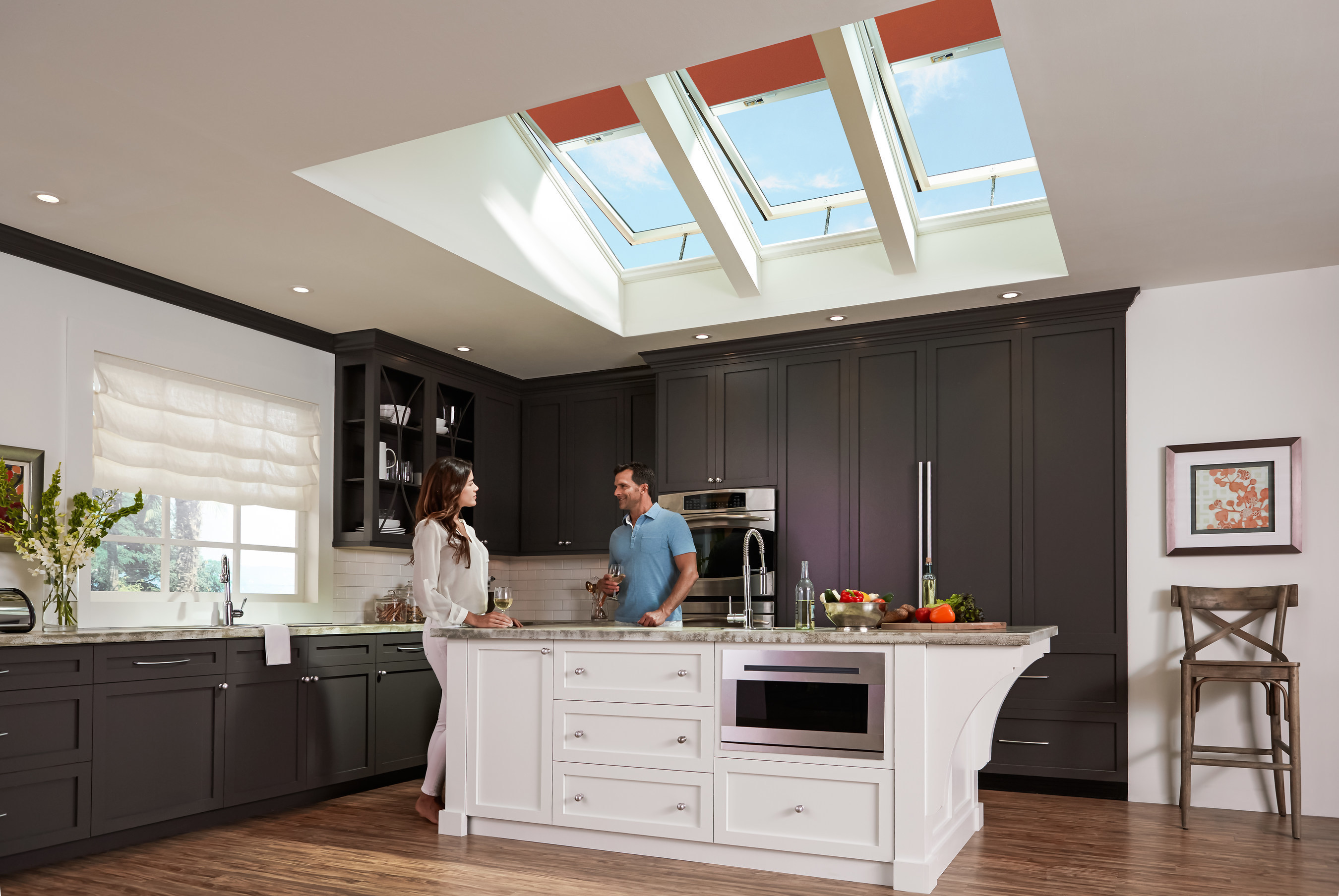 Homeowners Save Now And Later With VELUX Solar Powered Skylights And Blinds
