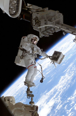 David Wolf has conducted seven space walks and will share those experiences at The Children's Museum of Indianapolis.