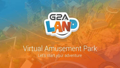 G2A Land - A Virtual Amusement Park. See G2A Land Youtube video (PRNewsFoto/G2A.COM) (PRNewsFoto/G2A.COM)