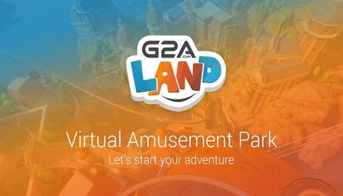 G2A Land - A Virtual Amusement Park. See G2A Land Youtube video (PRNewsFoto/G2A.COM) (PRNewsFoto/G2A.COM)