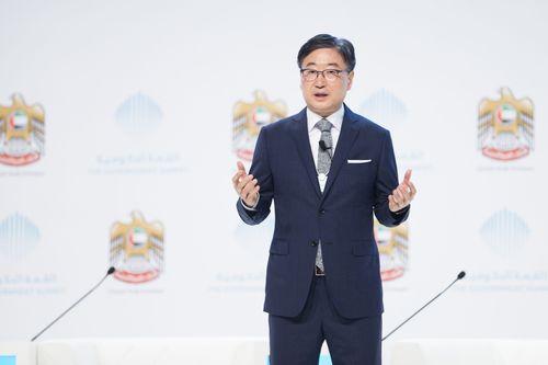 Boo Keun Yoon, CEO Samsung - Government Summit (PRNewsFoto/The Government Summit)