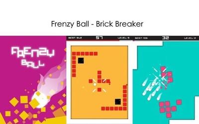 Frenzy Ball Brick Breaker