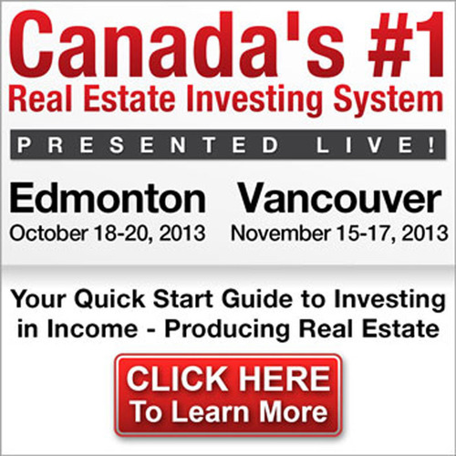 Real Estate Investment Network Ltd. will Host the Authentic Canadian Real Estate Program in October. (PRNewsFoto/Real Estate Investment Network Ltd.)