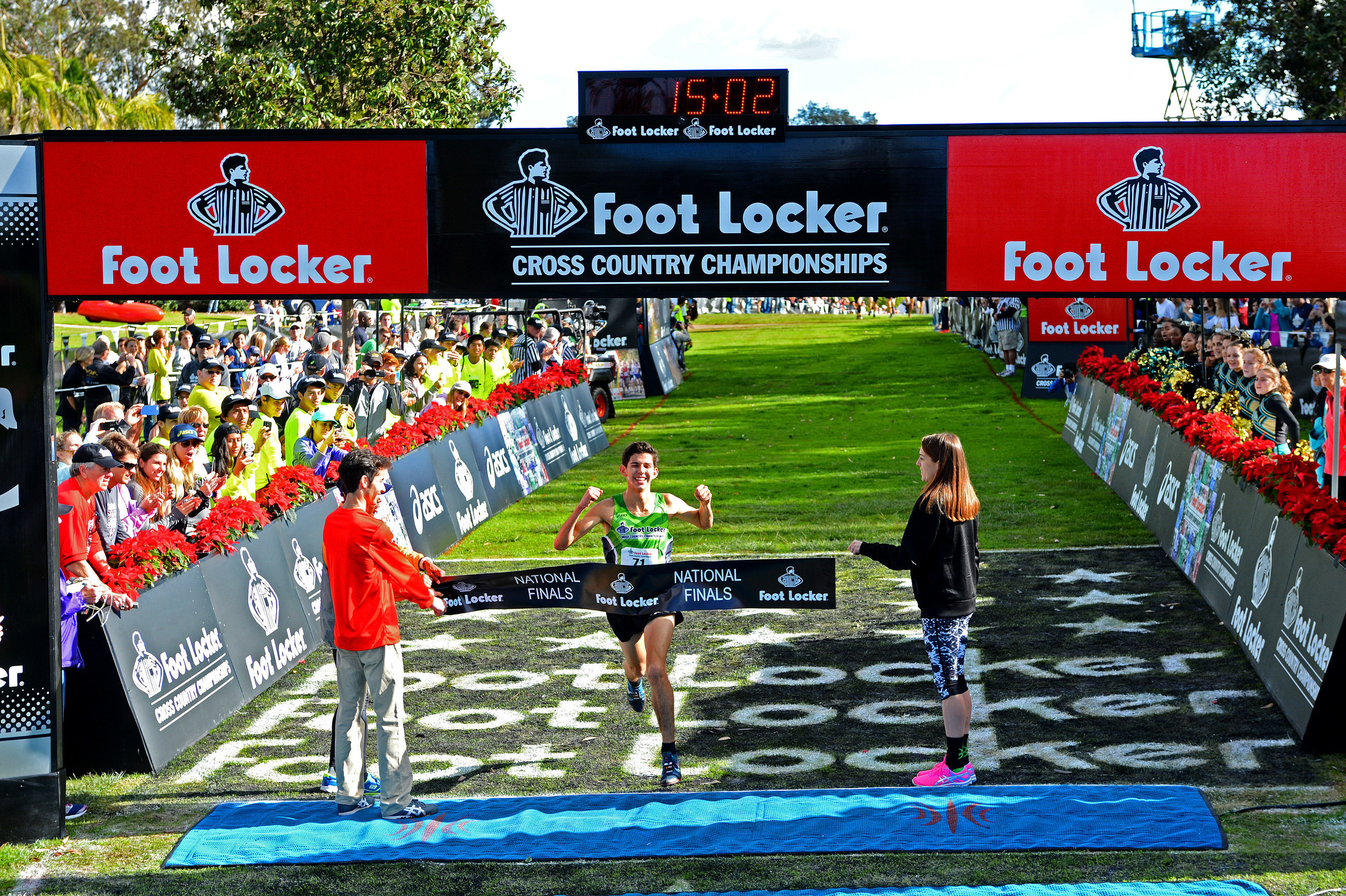 Defending Champion Grant Fisher of Grand Blanc, Mich., captured the first place title at the 36th Annual Foot ...