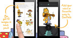 Add your voice or favorite song to Garfield.  (PRNewsFoto/Shuttersong)