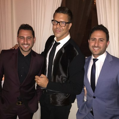 Josh Altman, Fredrik Eklund and Matt Altman
