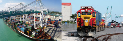 Florida East Coast Railway and PortMiami are well positioned to support vessels capable of hauling more than 10,000 TEU's, and will continue to promote multi-modal shipping and support global trade into and out of South Florida.