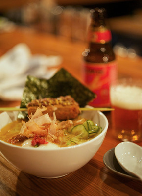 Yusho, the Japanese-inspired grill and noodle house by renowned Chicago chef Matthias Merges will make its Las Vegas debut at Monte Carlo (www.montecarlo.com) in April 2014. (PRNewsFoto/Monte Carlo Resort and Casino) (PRNewsFoto/MONTE CARLO RESORT AND CASINO)