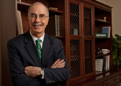 Philip J. Hanlon '77, the 18th president of Dartmouth
