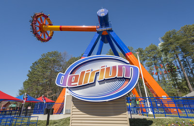 Delirium will have riders spinning and soaring through Candy Apple Grove
