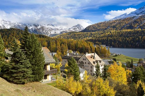 Grace Hotels acquires historic La Margna hotel in St. Moritz and plans creation of Grace St. Moritz hotel and residences. (PRNewsFoto/Grace Hotels)