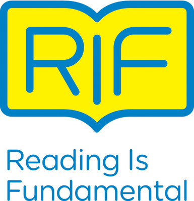 Today, Reading Is Fundamental, the nation's largest children's literacy nonprofit, unveils a bold new look and logo which marks the beginning of an awareness campaign designed to spark a widespread movement in support of reading.  (PRNewsFoto/Reading Is Fundamental)