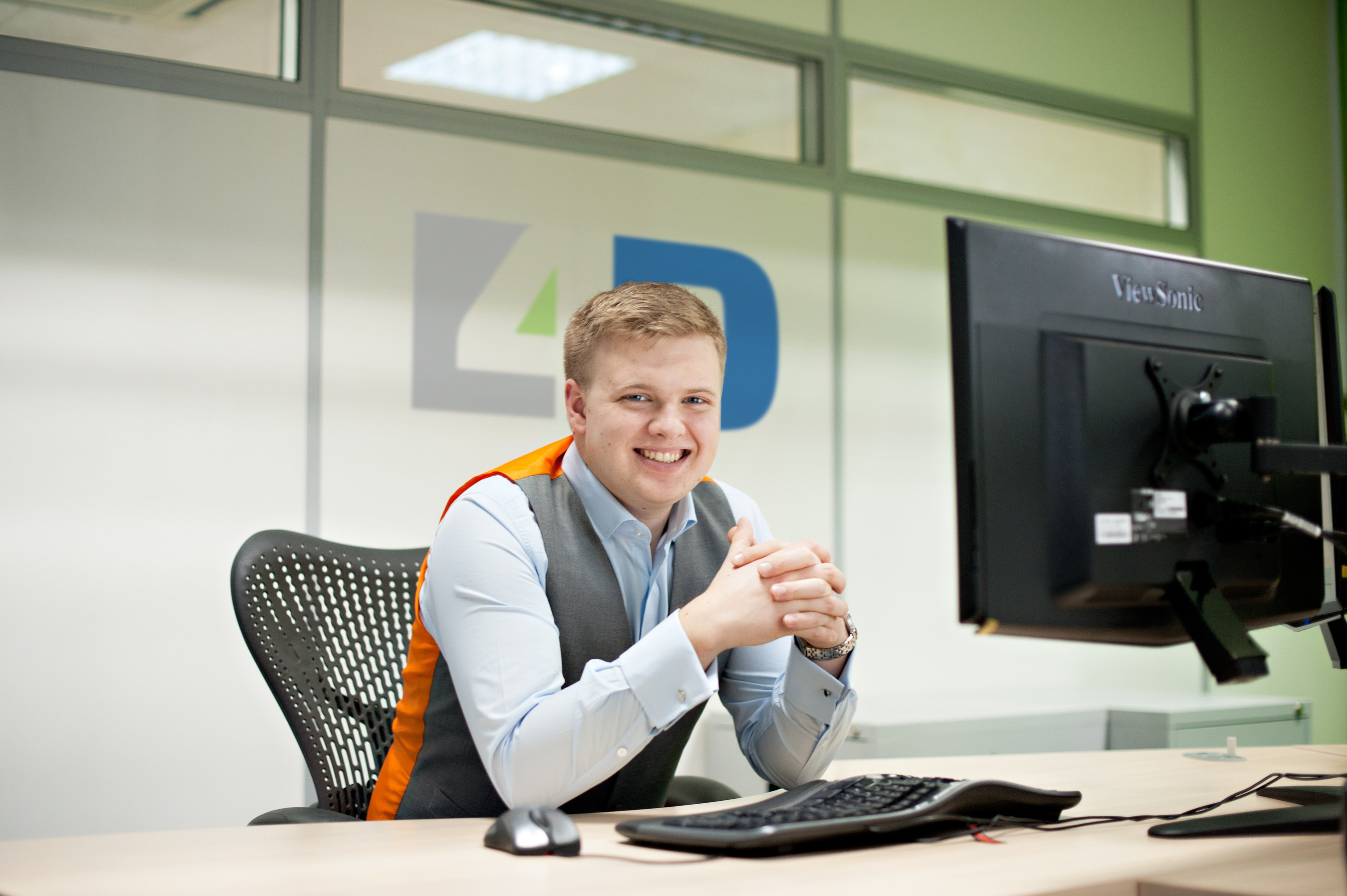 David Barker/ founder and technical director at 4D-DC