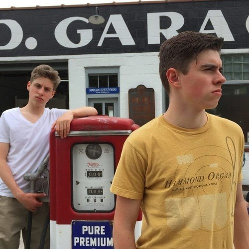 L-R Emmett and Cullen O'Connor (PRNewsFoto/Dirty Water Records)
