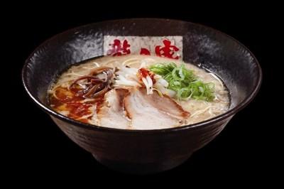 Ramen Tatsunoya's signature tonokotsu ramen