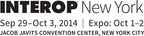Interop New York - Sept. 29 - Oct. 3 - Javits Convention Center. (PRNewsFoto/UBM Tech)