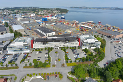 W. P. Carey Inc. completes acquisition of Total E&P Norge AS's Norwegian headquarters. The facility is located in Stavanger, Norway and was acquired for approximately $114 million after tax adjustments and transaction costs. (PRNewsFoto/W. P. Carey Inc.)