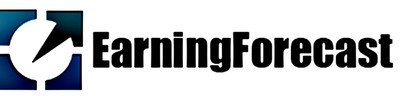 EarningForecast.com Logo.  (PRNewsFoto/EarningForecast.com)