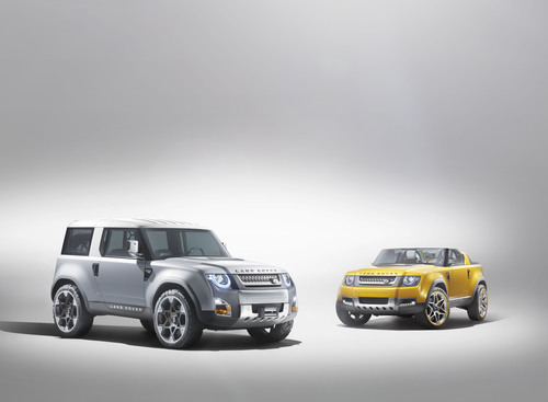 Land rover unveils two new defender concepts at the frankfurt motor show freerunsca Image collections