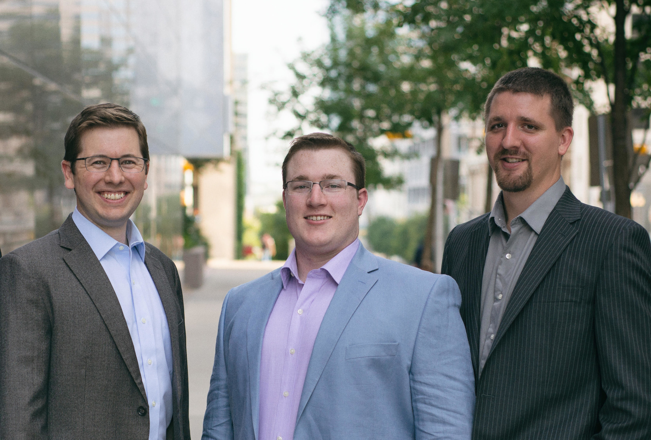 Dragos Inc, founders Jon Lavender, Robert M. Lee, and Justin Cavinee (left to right).