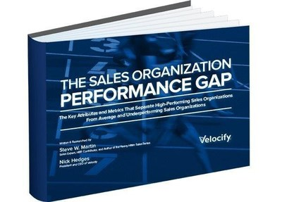 New Study Reveals What Separates Average Sales Organizations from Great Ones