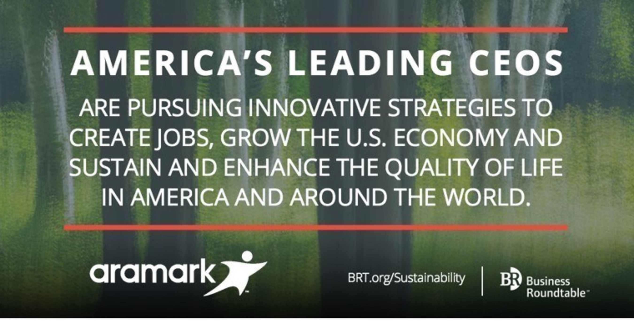Aramark is recognized for its commitment to healthy lifestyles by the Business Roundtable