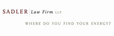 Sadler Law Firm LLP.  (PRNewsFoto/Sadler Law)