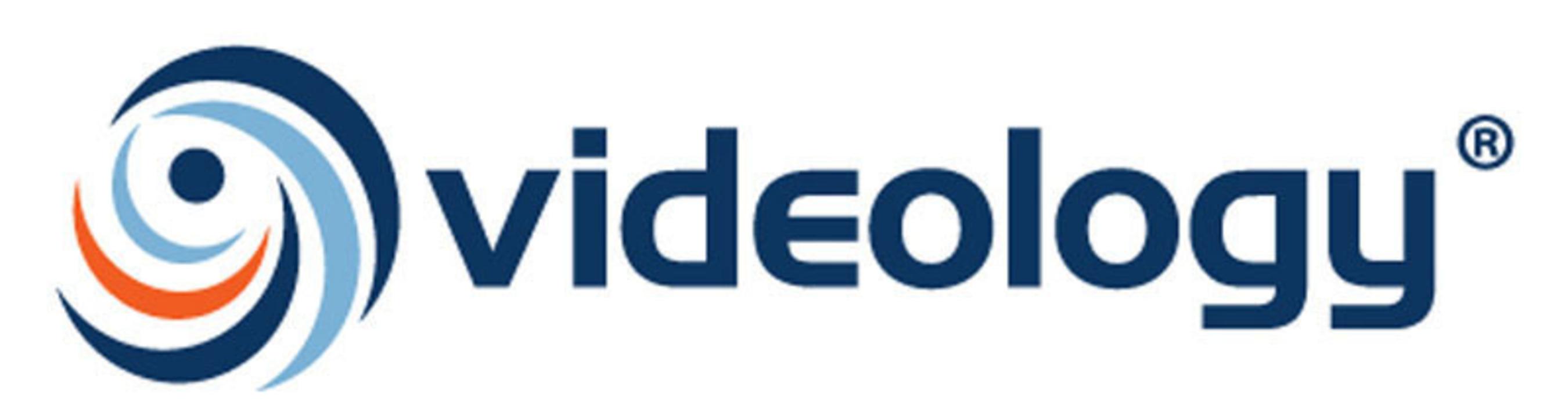 Videology logo.
