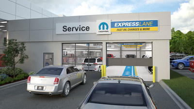 The Fleet Preferred Mopar Express Lane program is one of the most comprehensive solutions offered by an Original Equipment Manufacturer (OEM). It transforms FCA US LLC dealerships with Mopar Express Lane service into one-stop shops for fleet vehicle owners.