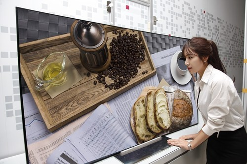 LG Display's 65-inch Curved Ultra HD OLED Panel