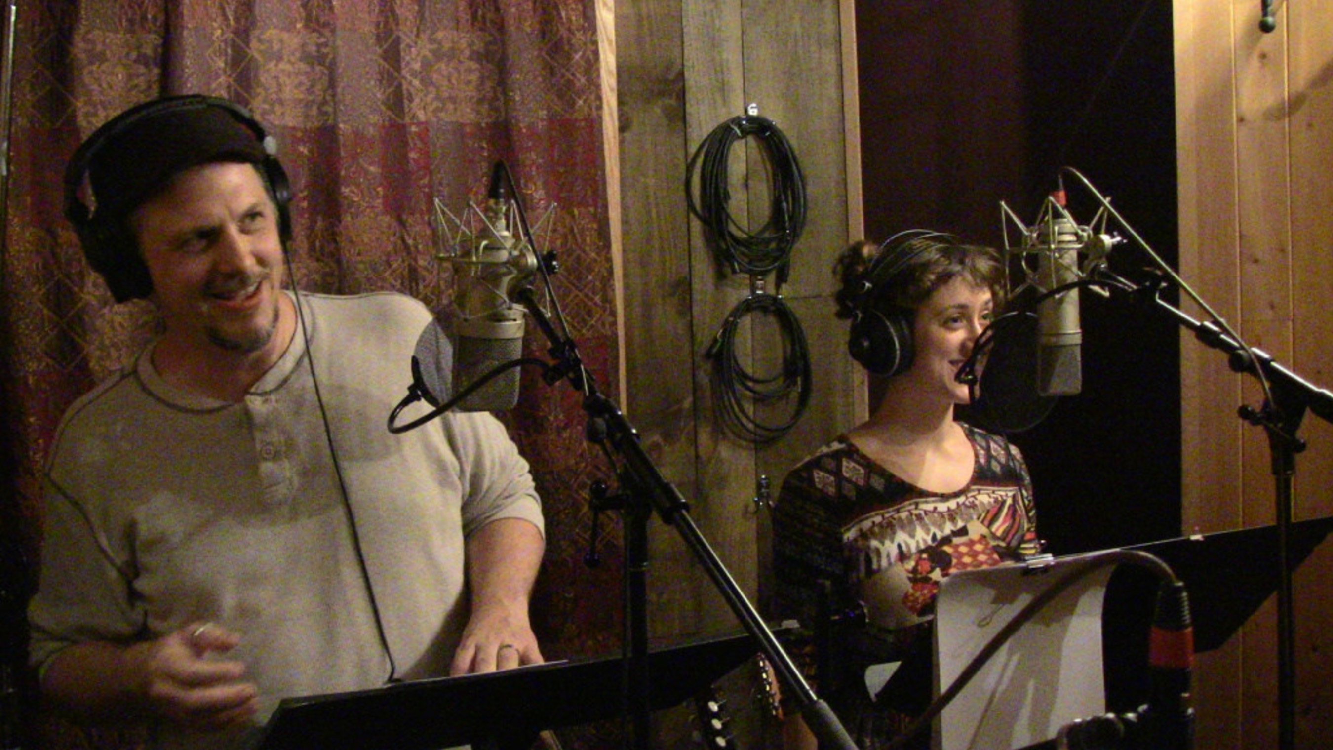 Buffalo's Aural Stage Studios records a new audio drama.
