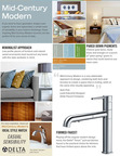 Delta Faucet Company shares the Top 5 Design Trends of 2013. What's your style?.  (PRNewsFoto/Delta Faucet Company)