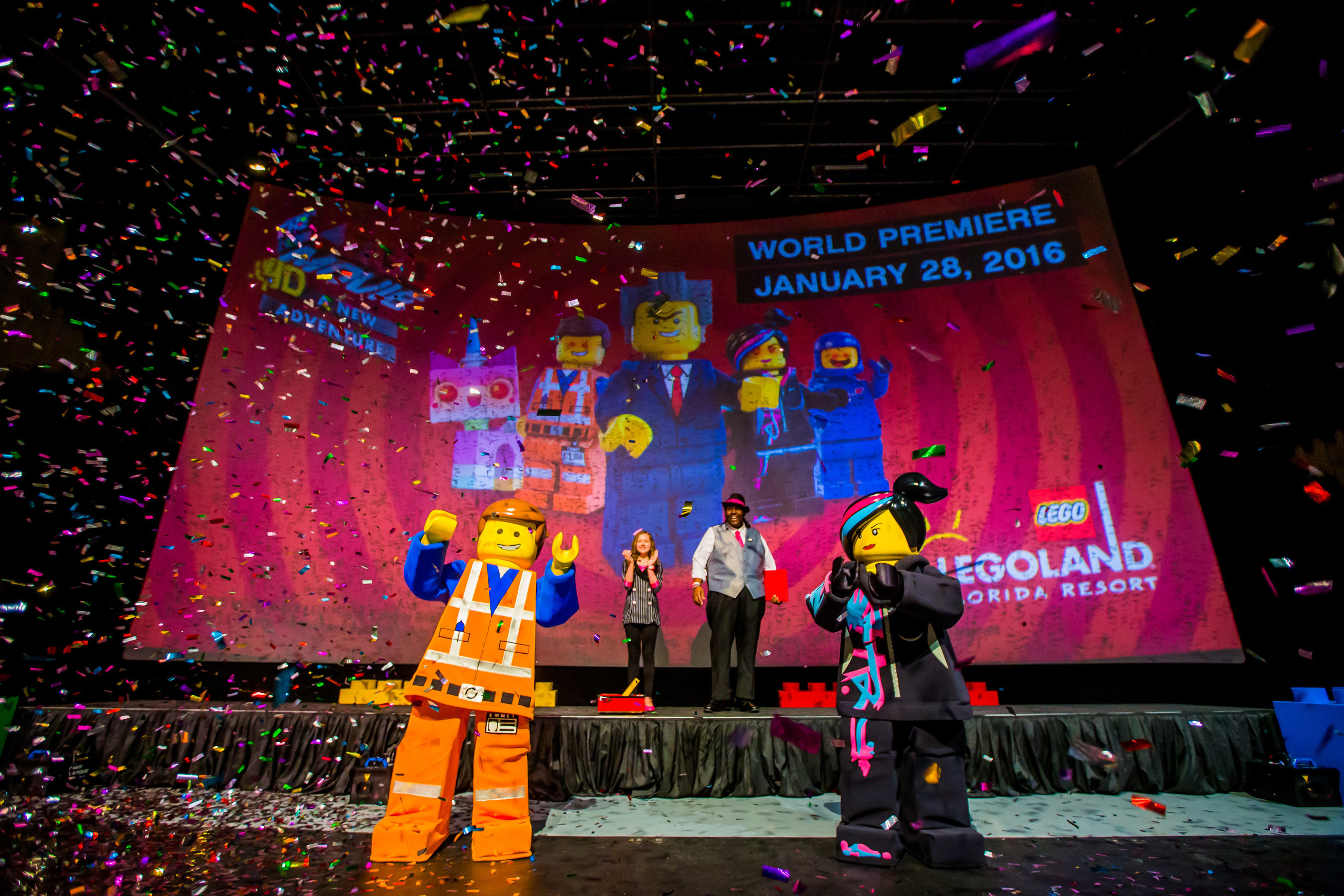 Emmet Wyldstyle And Friends Return In The Lego Movie 4d A New