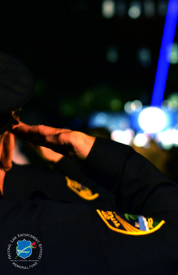 28th Annual Candlelight Vigil Honored 252 Fallen Peace Officers at the National Law Enforcement Officers Memorial.