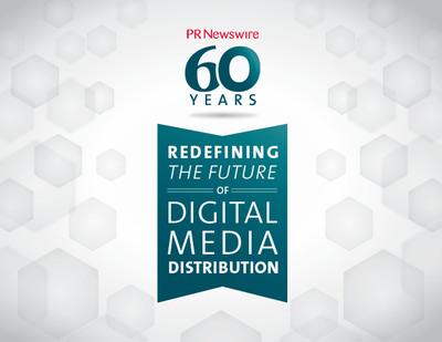 PR Newswire Celebrates 60 Years of Storytelling (PRNewsFoto/PR Newswire Association LLC)