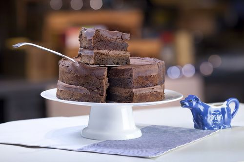 The nation voted chocolate cakes their favourite (PRNewsFoto/The Cake Awards)