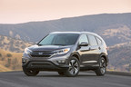 Honda's 2016 CR-V set a new all-time annual sales record in 2015, helping Honda to an all-time overall sales record for the year while continuing as America's best-selling SUV.