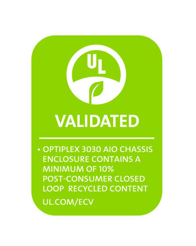 UL Environment issues its first closed loop recycled content claim validation to Dell. (PRNewsFoto/UL Environment)
